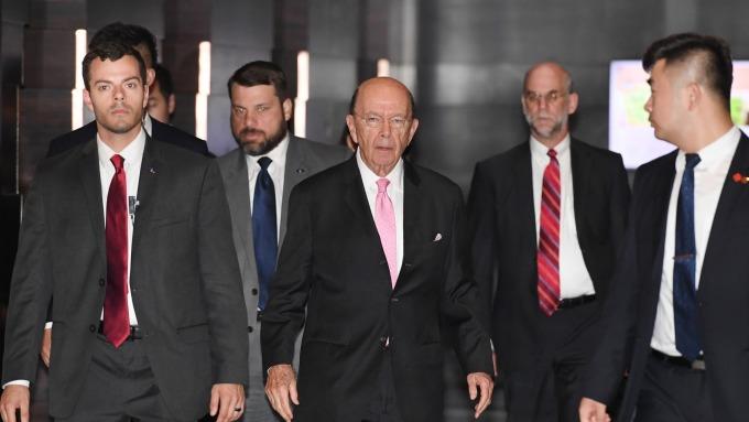 美國由商務代表羅斯帶隊赴北京談判(圖:AFP)