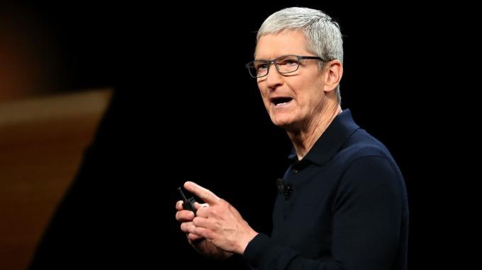 蘋果庫克 (圖:AFP)