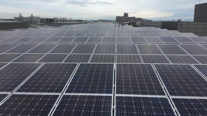 中美晶打造矽品中科屋頂太陽能電站 每年供電千戶家庭