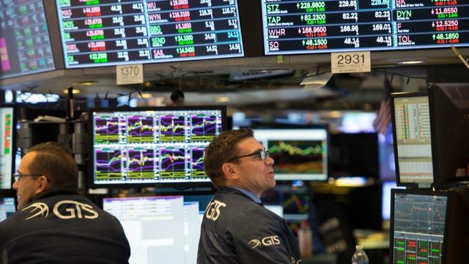 圖:AFP  美國股市週一小幅收高