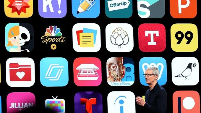 蘋果app開發準則明禁挖礦程式。圖:AFP