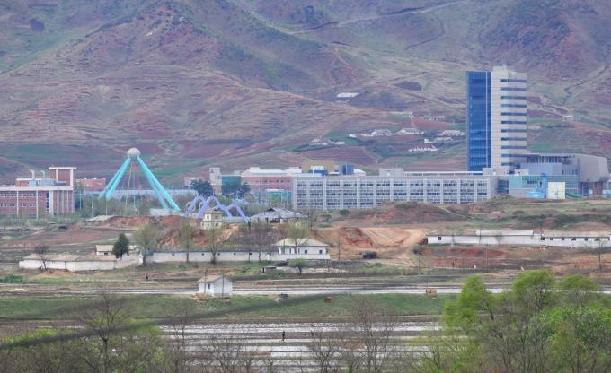 南北韓曾合作開發開城經濟特區,但因政治緊張而關閉      (圖:AFP)