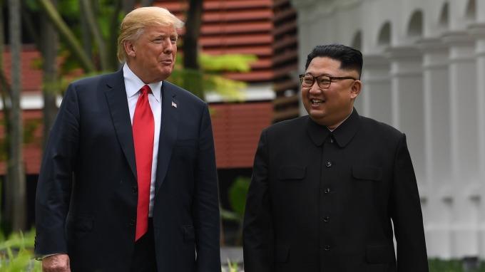 川金會能否打開美企投方北韓大門?      (圖:AFP)