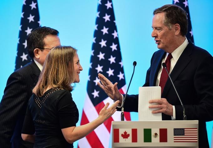 三方會談可能會暫中止,因墨西哥大選在即      (圖:AFP)