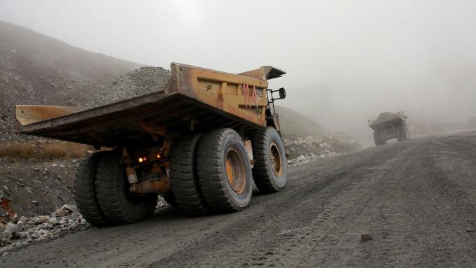 銅礦生產(圖:AFP)