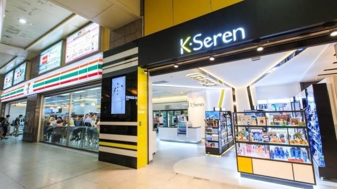 7-11與統一集團新品牌「K.Seren」開複合店。(圖:統一超提供)