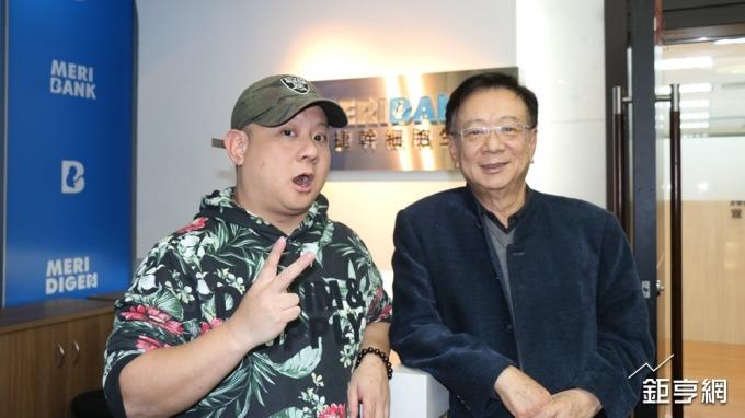 宣捷總經理宣昶有(左)。(鉅亨網記者李宜儒攝)