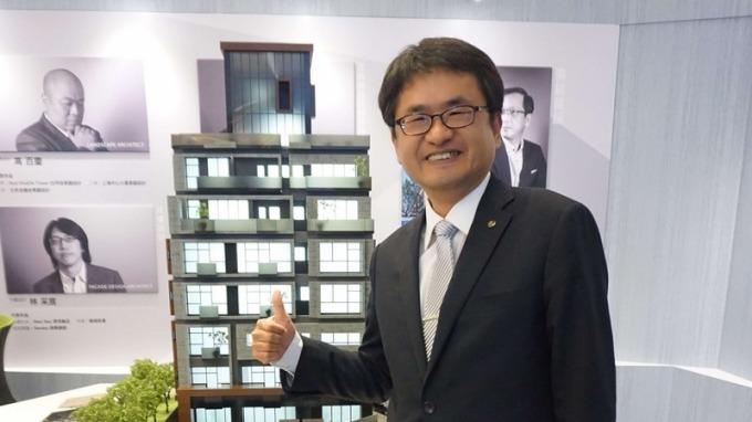 太平洋房屋董事長盧阿水。(圖:業者提供)