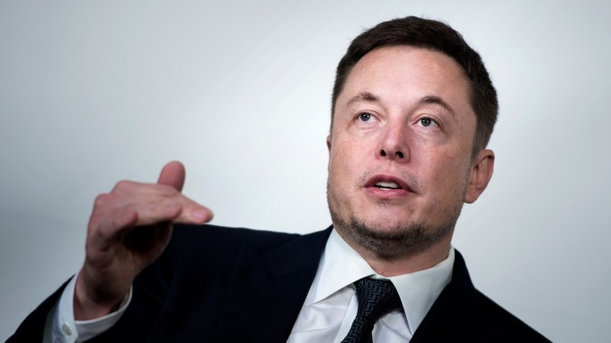 馬斯克 (Elon Musk) 圖:AFP