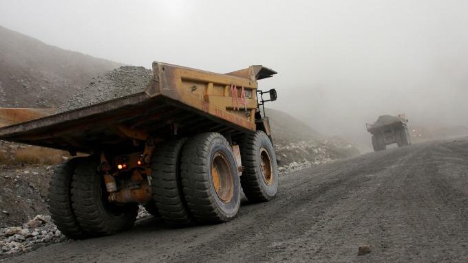 銅礦礦場(圖:AFP)