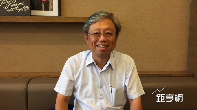 撼訊總經理陳劍威。(鉅亨網記者黃雅娟攝)