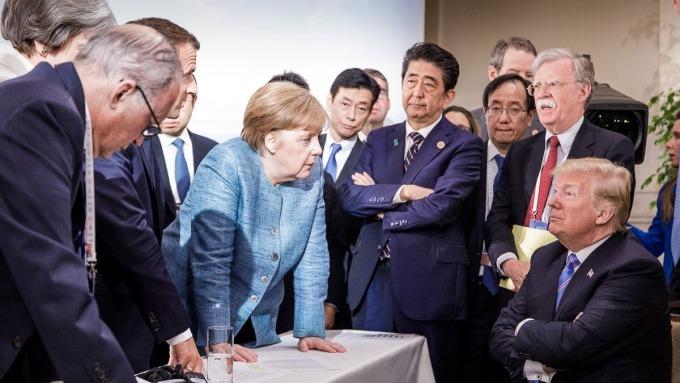 G7元首峰會(圖:AFP)