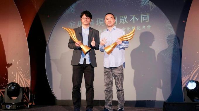 左起為M17 Entertainment集團營運長張牧寧、17 Media創辦人黃立成。(圖:17 media提供)