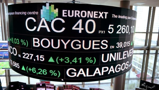 週三歐股早盤,主要指數走揚。(圖:AFP)