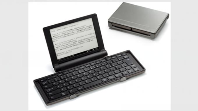 元太打入King Jim 數位打字機供應鏈。(圖:元太提供)