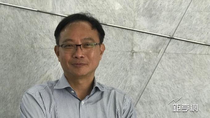 凌華董事長劉鈞。(鉅亨網記者黃雅娟攝)