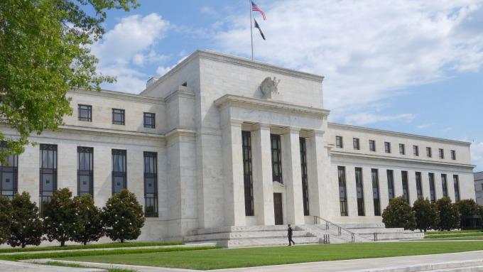 圖:AFP  美國聯準會(Fed)大樓