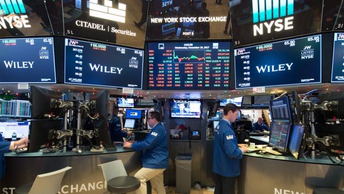 圖:AFP  Fed升息 美國股市週三下跌