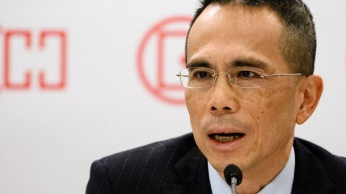 李澤鉅掌舵長實系滿月,首度出擊開價港幣770億元收購APA。 (圖:AFP)