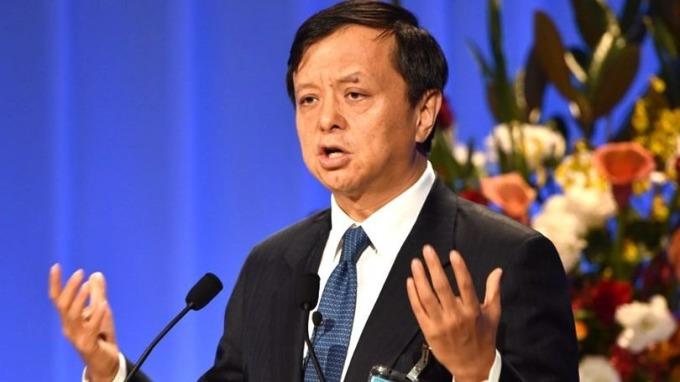 港交所續約李小加出任行政總裁,合約3年。 (圖:AFP)