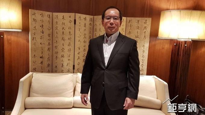 動力-KY董事長許文昉。(鉅亨網記者許雅綿攝)
