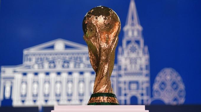 2018世界盃足球賽冠軍獎杯(圖:AFP)