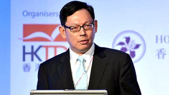 陳德霖表示,大型招股活動結束後,拆款利率或會回落。 (圖:AFP)