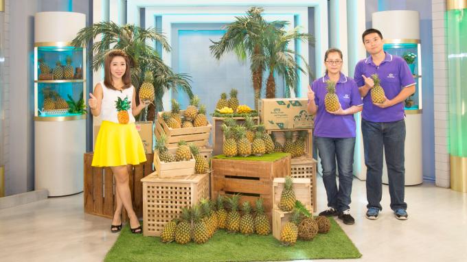 東森購物透過電視購物的資源推展產地直銷生鮮。(圖:東森提供)