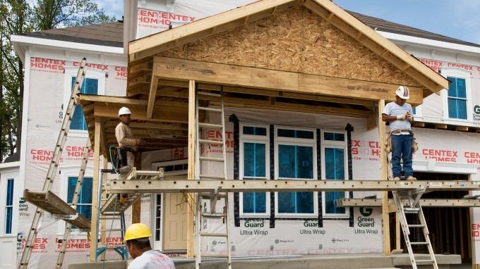 圖:AFP  美國5月新屋開工大幅上升