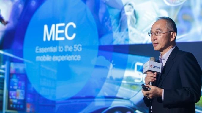 亞太電董事長呂芳銘提出5G網路共建共用建言。(資料照,圖:亞太電提供)