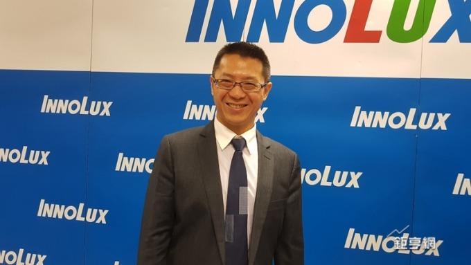 群創新任董事長洪進揚強調投資VIZIO有重要意義。(鉅亨網記者楊伶雯攝)
