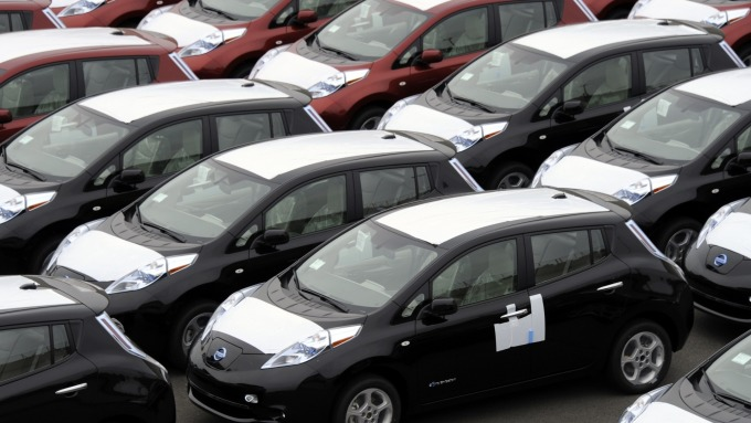 圖:AFP  德國提議 歐盟取消美國汽車進口關稅