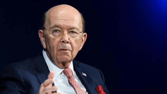 美國商務部長Wilbur Ross。(圖:AFP)