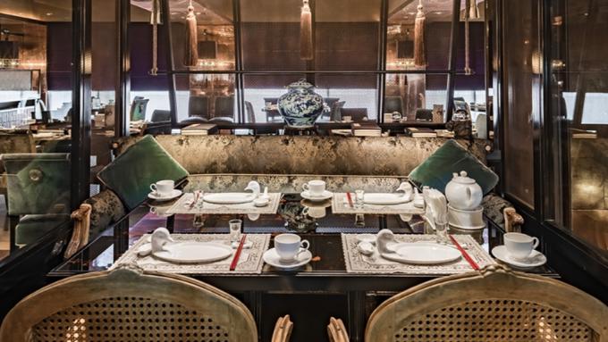 君品酒店館內餐廳頤宮。(圖:取自君品官網)