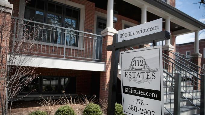 位於芝加哥出售的房屋(圖:AFP)