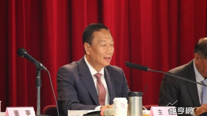 〈鴻海股東會〉郭台銘:未來5年內不會退休 接班人培養中