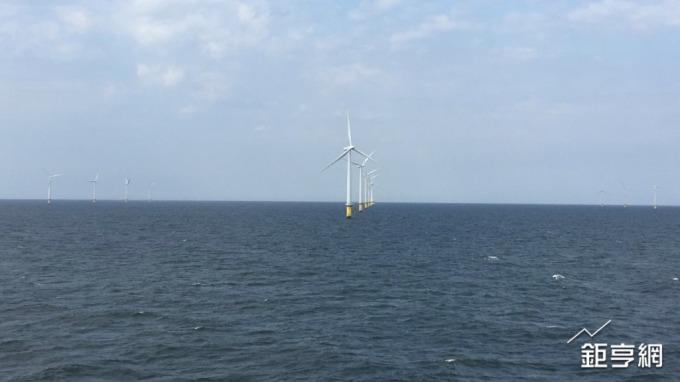 沃旭位於丹麥外海的離岸風場。(鉅亨網資料照)