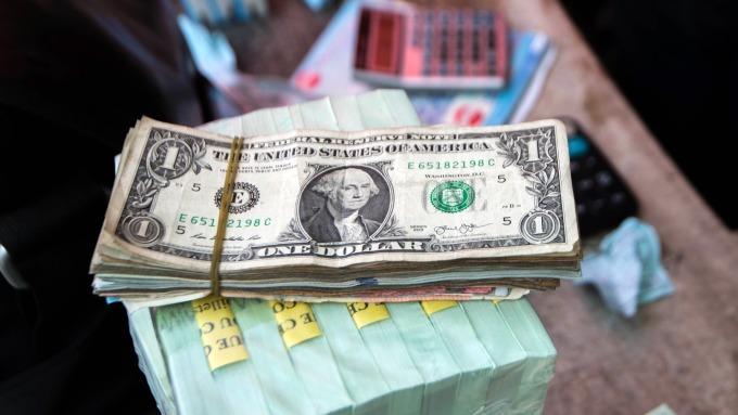 圖:AFP  美元兌加元週五反彈
