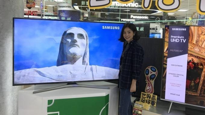 世足賽推升 全國電、燦坤大4K電視買氣升溫 營運動能俏