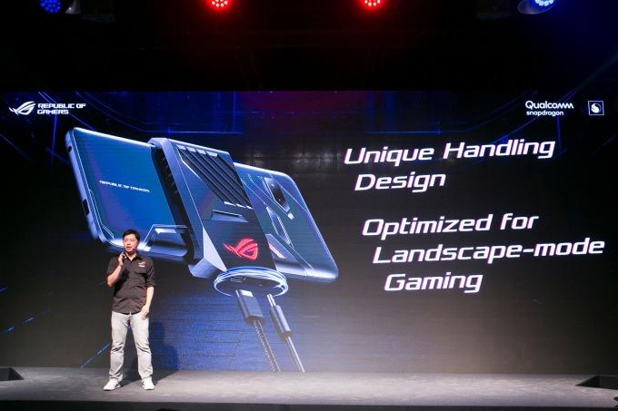 華碩預計將於第 3 季推出首款電競手機 ROG Phone。(圖:華碩提供)
