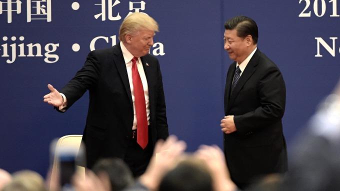 美中貿易爭端加劇。(圖:AFP)