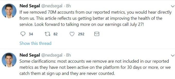 Ned Segal 發言 / 圖:推特