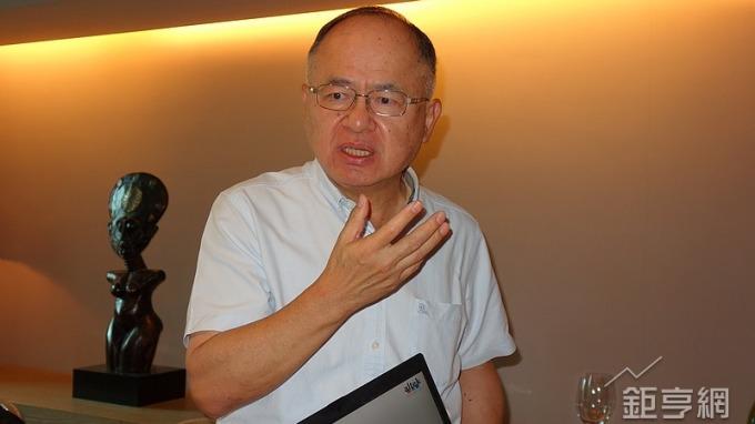 華晶科董事長夏汝文。(鉅亨網記者張欽發攝)