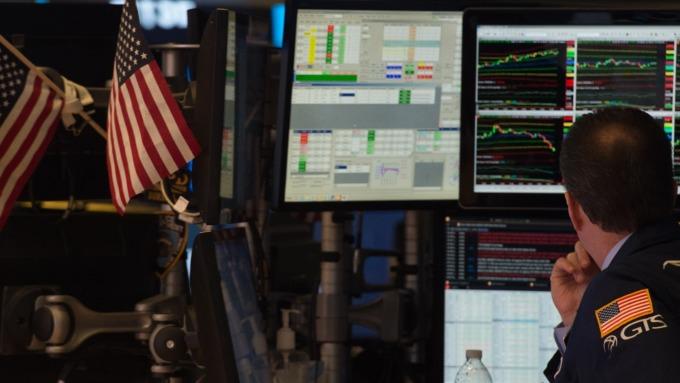 圖:AFP  美國指數期貨盤前走高