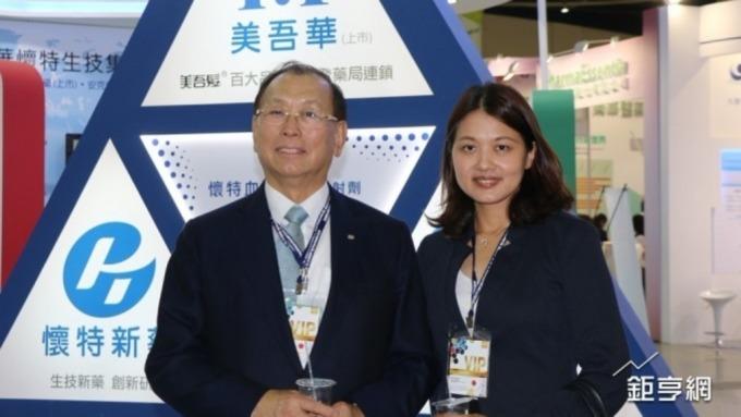 美吾華懷特安克生技集團董事長李成家(左)。(鉅亨網資料照片)