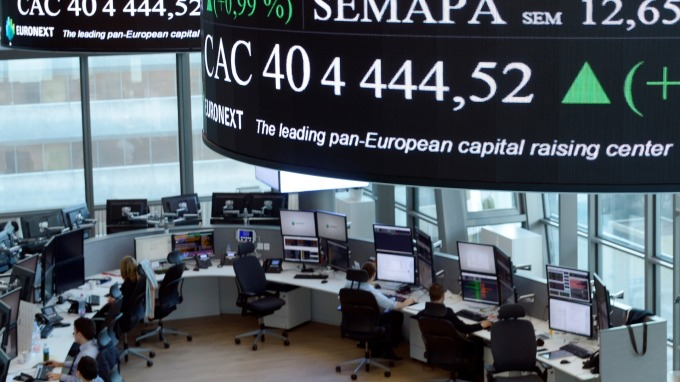 圖:AFP  歐股週二收高