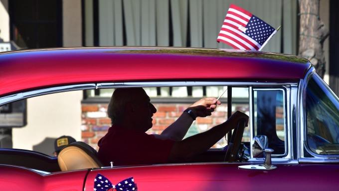美國經濟將陷入衰退。(圖:AFP)