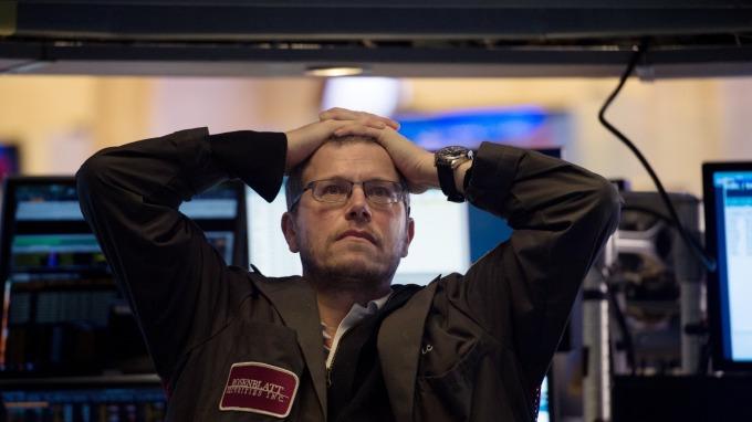 美股期貨下挫。(圖:AFP)
