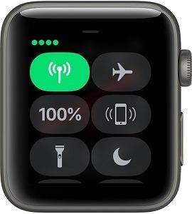 Apple Watch Series 3(GPS + Cellular)與網路連線時