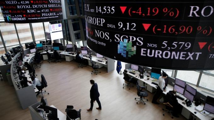 週三歐股盤前,指數期貨走跌。(圖:AFP)